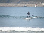 cours de stand up paddle à Biarritz