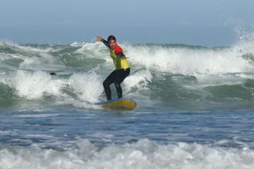 our surf lessons in Bidart